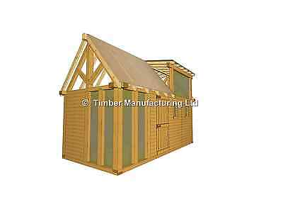 tiny living shepherds hut glamping summerhouse extension additional bed room