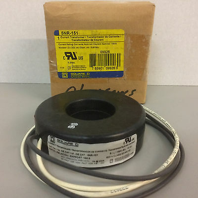NIB Square D 5NR-151 Current Transformer