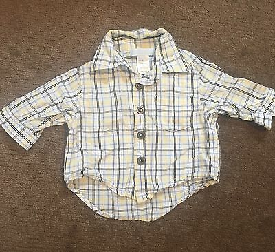 Cotton Boys Shirt Baby Size 000