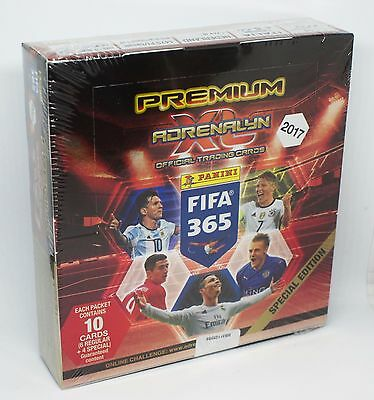 Panini Adrenalyn XL FIFA 365 2017 Premium Display /12 Booster = 12 Limited Cards