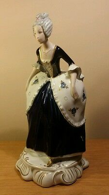 Royal Dux Figure of a Eighteenth Century Lady