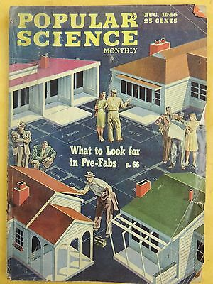 Popular Science Magazine from the 1940s Decade, Choose ONE from my selection