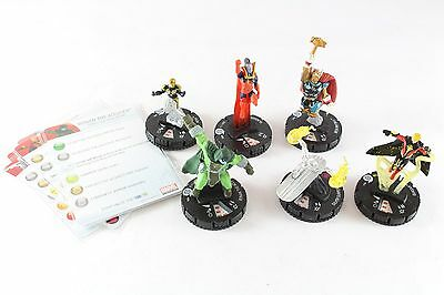 Heroclix Marvel Galactic Guardians Fast Forces Silver Surfer Beta Ray Quasar