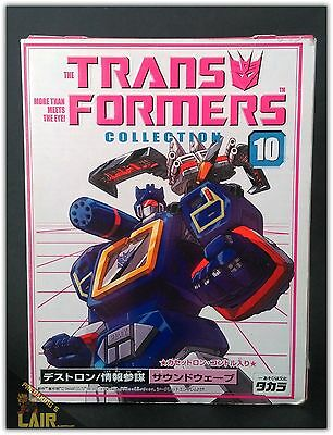 Transformers Takara Collection 10 G1 Soundwave & Laserbeak MIB COMPLETE