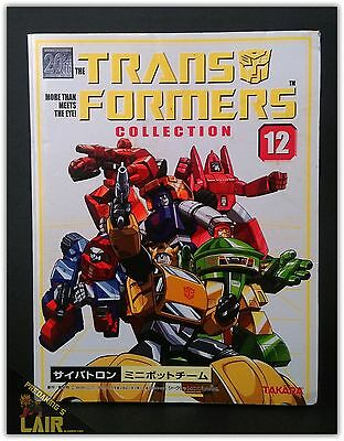 Transformers Takara Collection 12 G1 Minibots Bumblebee Warpath + MIB COMPLETE