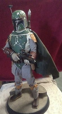 Sideshow Premium Format BOBA FETT w/ Exc Madalorian Artifact Star Wars Rogue One