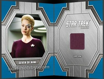 Star Trek 50th Anniversary RC34 Seven of Nine Relic