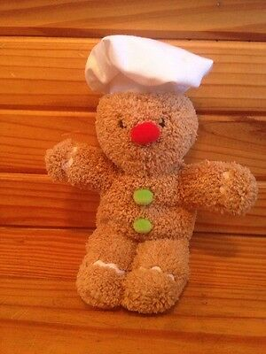 Russ Bonnie Lynn Ginger in the Kitchen Cookie Chef Stuffed Plush Gingerbread