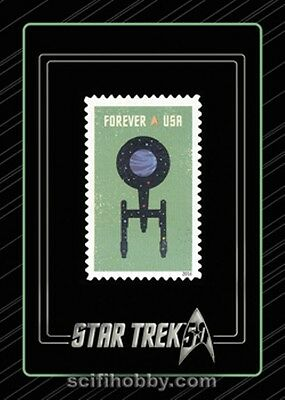 Star Trek 50th Anniversary S3 Commemorative Stamp