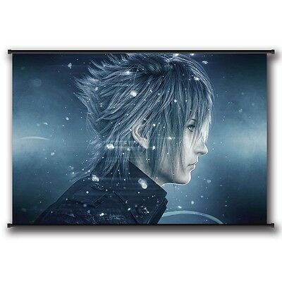 Hot PS4 Final Fantasy XV Paintings Scroll Poster Home Decoration FFXV FF15