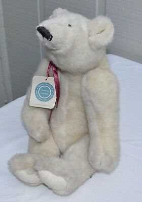 VINTAGE BOYDS BEARS ARCHIVE COLLECTION POLAR BEAR JOINTED 1994 WTag RETIRED 1364