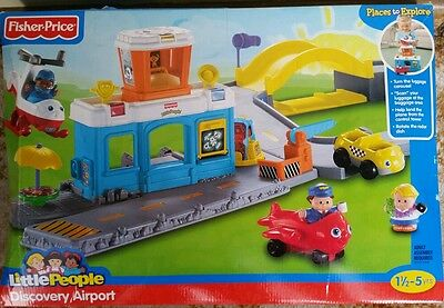 Fisher Price Little People Discovery Airport BNIB