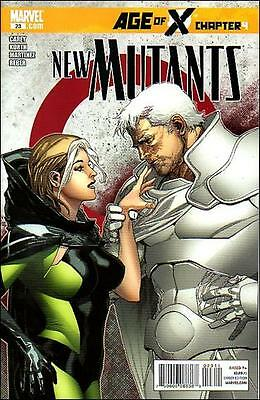 """New Mutants (2009, Marvel) #23-A  """"Age of X, Ch.4"""""""