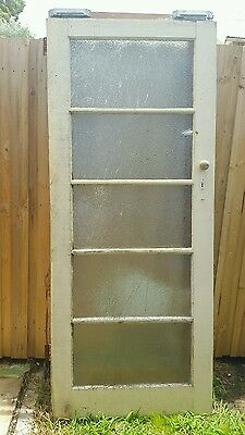 Solid timber vintage door