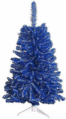 Dallas Cowboys Blue & White 2FT Christmas Tree, Team Sports Colored Tree,  NFL