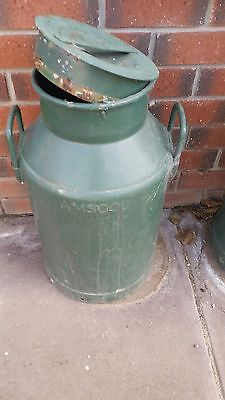 Amscol Vintage Milk Can Collectable