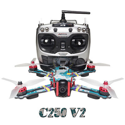 ARRIS C250 V2 250mm RC Quadcopter FPV Racing Drone RTF w/Flycolor 4-in-1 Tower