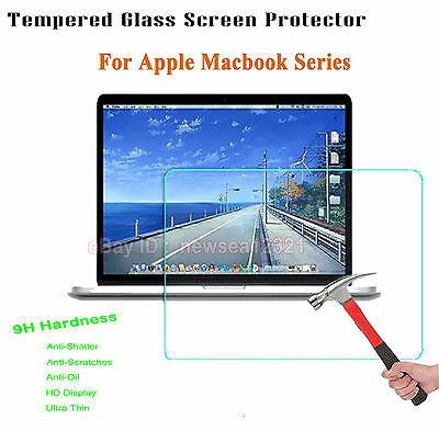 Tempered Glass Screen Protector Film Protection Shield Cover For Apple laptop