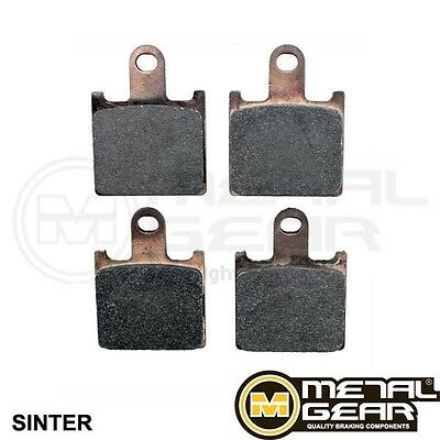 MetalGear Brake Pads Rear PIAGGIO Beverly 350 Sport Touring ABS 2011 - 2015