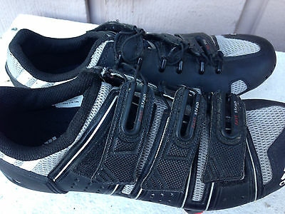 Youth's Adidas Alu-Tex Sole Bike Clipless Cycling Shoes 3 Bolt Size Eur 38(5.5 )