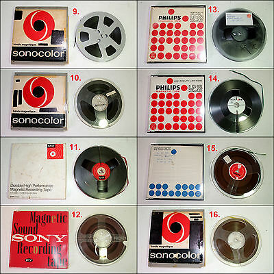 Assorted Pre-Recorded Reel to Reel 7 inch Tapes (Batch #2)