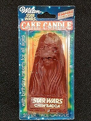 Star Wars Vintage Wilton Candle - Chewbacca - Sealed - 1980 Empire Strikes Back