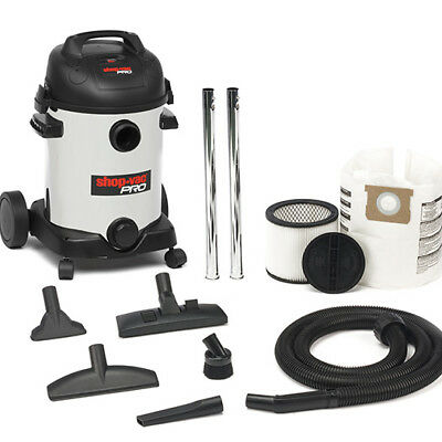 Shop Vac Pro 25L Stainless Steel Wet / Dry Vacuum