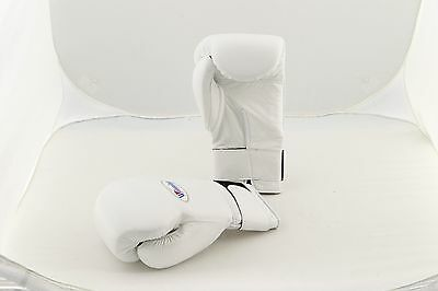 Winning Boxing Gloves Tape Pro Type (WHITE) MS600B 16OZ Handcrafted in JAPAN