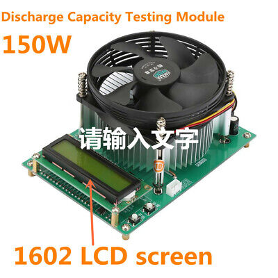150W Constant Current Electronical Load Battery Discharge Capacity Testing Tool