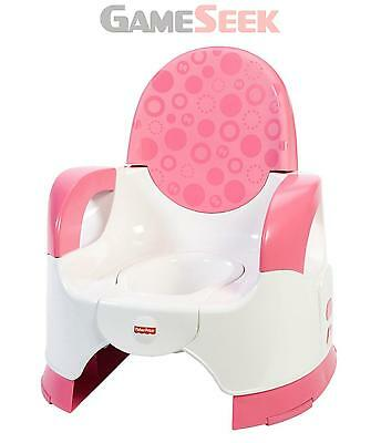 Fisher Price Fisher-Price Custom Comfort Potty (Pink) | Free Delivery New