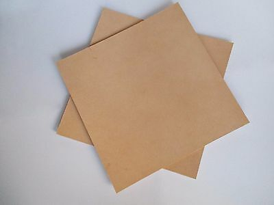 9-10 oz Precut Pieces Veg Tanned Tooling Leather Leathercraft (Various Sizes.)