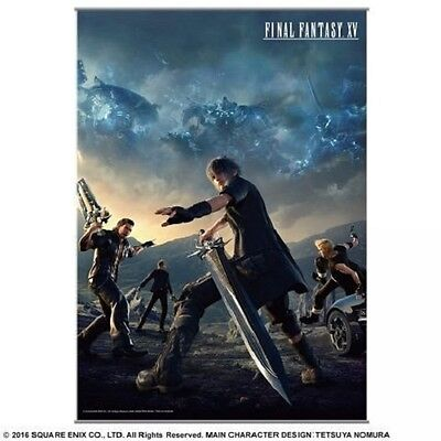 *NEW* Final Fantasy XV: Noctis & Team Wall Scroll by Square Enix