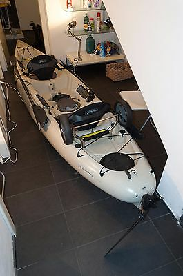 Kayak Hobie Oasis Tandem con 2 pedaliere mirage drive + Ruote