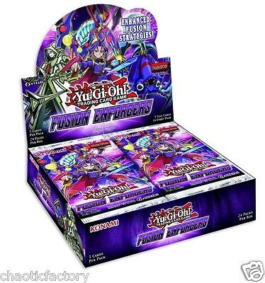 YU-GI-OH TCG Fusion Enforcers Facotry Sealed Booster Preorder