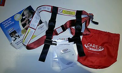 Cares Harness Aircraft Seat Belt Rental, Childrens Aviation Restraint