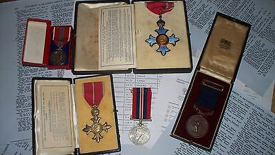 Rhodesia Medals CBE OBE(Military) Air Force Royal Humane Society Medal Eastwood