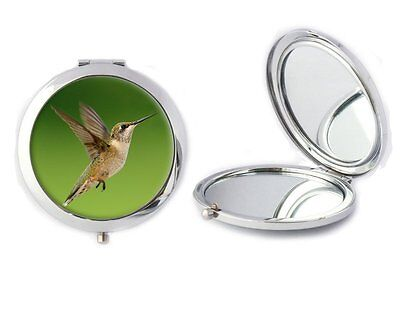 Hummingbird Compact Mirror Ideal Ladies Birthday Mothers Day Gift T20
