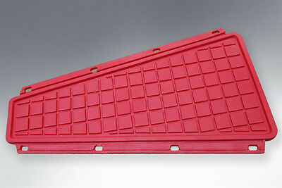 Vespa Red Rubber Centre Mat Px Style Fits All Large Frame