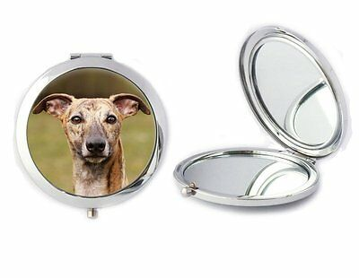 Whippet Dog Compact Mirror Ideal Ladies Birthday Mothers Day Gift T30