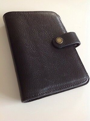 Mulberry Pocketbook In Black Glossy Goat Leather