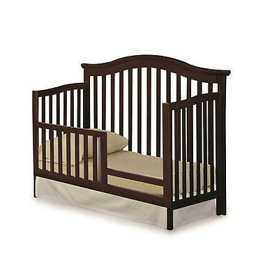 Imagio Baby Summit Park Toddler Guard Rail - Chocolate  [Crib Not Included]