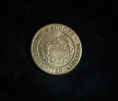 1992 British One ECU- Europa Europa coin