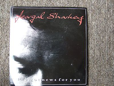 "FEARGAL SHARKEY - I'VE GOT NEWS FOR YOU/i CAN'T BEGIN 7"" vinyl 45 in pic sleeve"