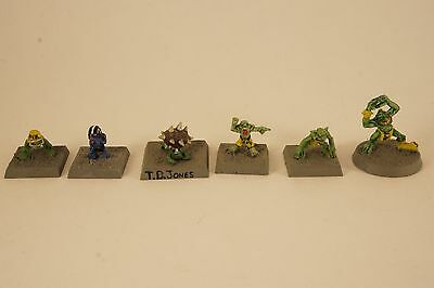 Blood Bowl Snotlings x6 - out of print miniatures