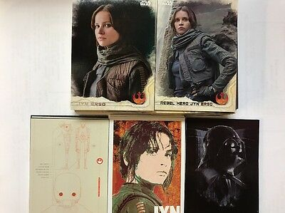 2016 Topps Star Wars Rogue One Series 1, Set 106 Cards,Base,Character,Darth Vad