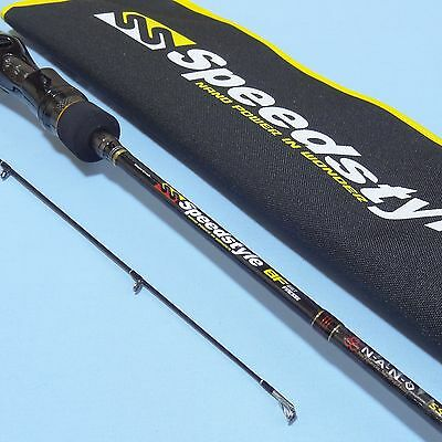 Major Craft SPEEDSTYLE SSC-682L/BF Casting 2 piece Fishing Rod NEW Carbon BASS