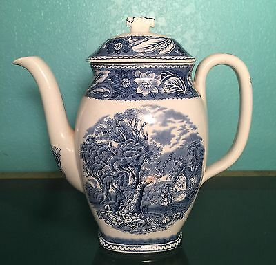 Wood & Sons Coffee Pot - Woodland Pattern - Made in England