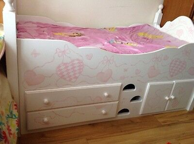 Childs Bed Mid-sleeper Chartley  Cabin