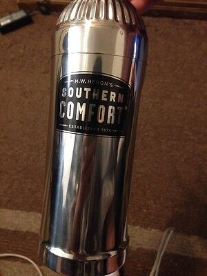 Southern Comfort - 3 Part Drink Shaker - Stainless Steel - NEW