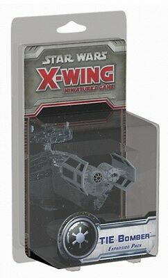 Star Wars-X-Wing-Game-Tie Bomber-Expansion Pack-Tabletop-new-engl.-rare
